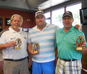 L-R, Jim Curley 2nd Pl, Dallas Smith 1st Pl, Johnny Loya 3rd Pl.